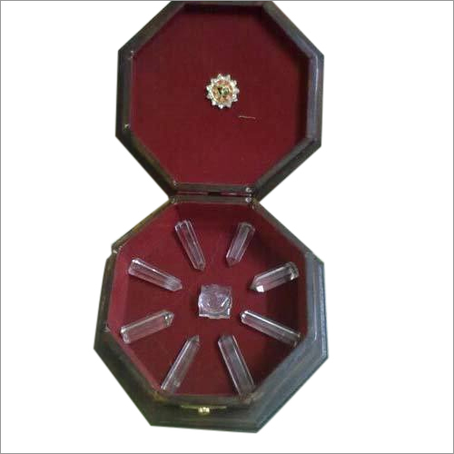 Sree Lakshmi Kubera Temple's Karya Siddhi Crystal Mandala
