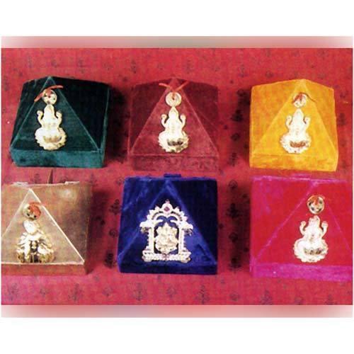 Sree Lakshmi Kubera Temples Money Pyramid Boxes