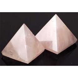 Pyramid Rose Quartz Lover's Stone