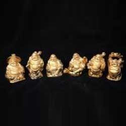 Feng Shui Laughing Buddha Set