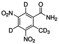 Dinitolmide-(4,6-d2, methyl-d3)