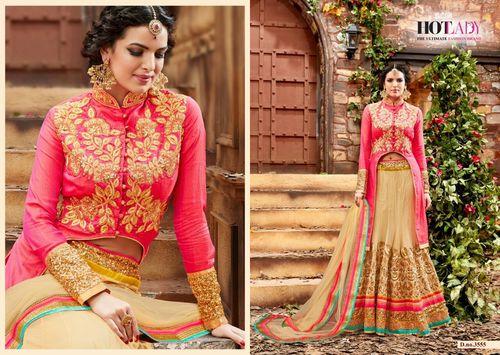 Beautiful Designer Net Lehanga