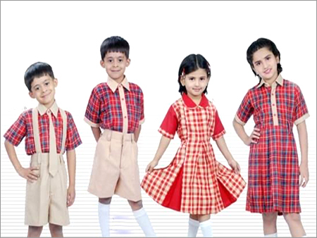 Cute Kids In School Uniforms