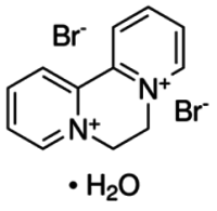 Diquat dibromide monohydrate