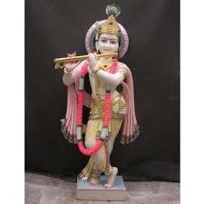 Krishna Marble Murti