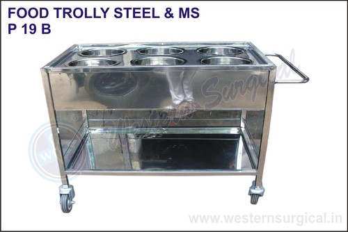 Food Trolly Steel & Ms 24