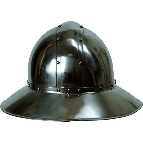 Replica Kettle Hat Helmet 16 Gauge - Armor Costume