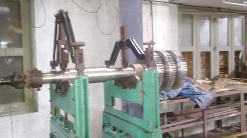 Rotor on Shaft for Balancing