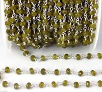 Faceted Beaded Chain