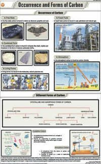 Occurence and Forms of Carbon Chart
