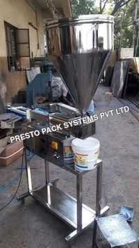 Semi Automatic Distemper Paste Filling Machine