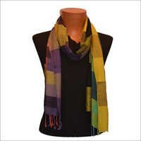 Viscose Check Fashion Scarf