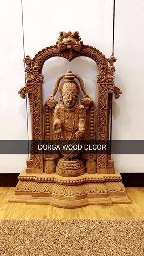 Wooden Balaji Statue
