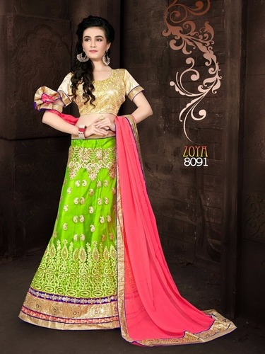 Fancy Traditional Wear Lahanga Choli