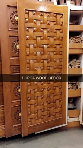 Unique Wood Door