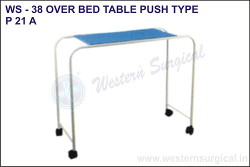 Over Bed Table Push Type