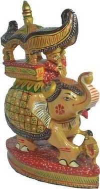 Elephant Statue - Handpainted