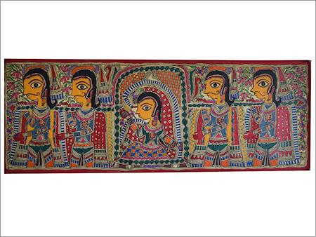 Indian Bridal Palki Painting