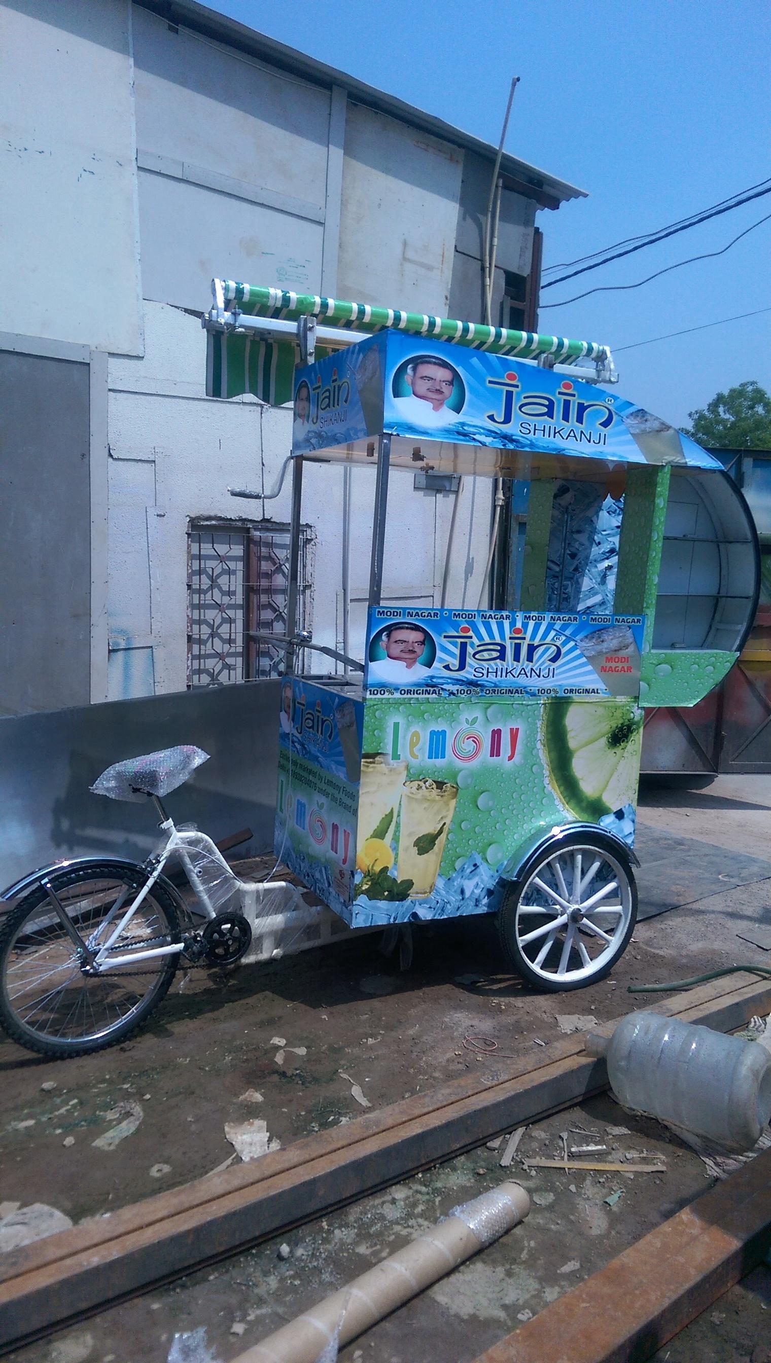 Soda Lemon Cart