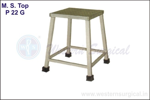 Bed Side Stool (M.S.Top)