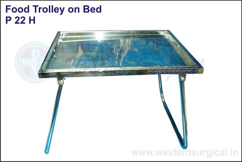 Bed Side Stool(Food Trolley On Bed)