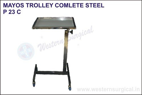 Mayos Trolley Complete Steel