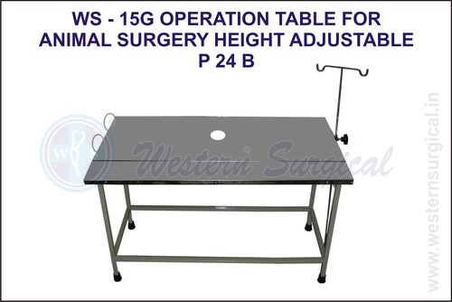 Operation Table For Animal Surgery Height Adustabl