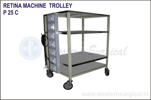Retina Machine Trolley