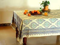 Indian Print Table Cloth