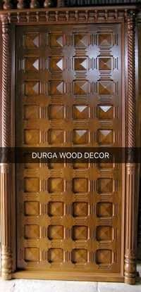 Unique TeakWood Door