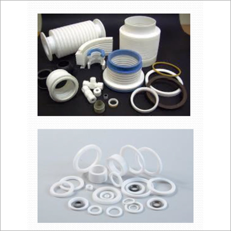 Industrial Polymer PTFE Components