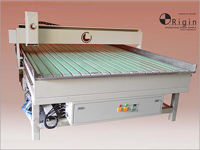 Flatbed Engraving Machine