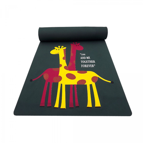 Gravolite Giraffe Couple Printed Kids Fun Mats