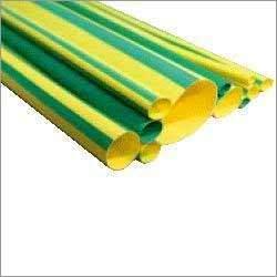 Green Yellow Strap Heat Shrinkable Shroud