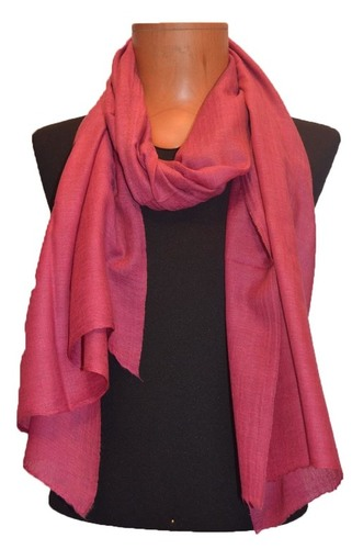 Semi Pashmina Solid Color Stole