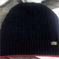Black Woolen Cap