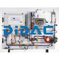 Training Panel Function Of Gas Heater