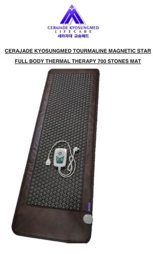 Tourmanium 700 Stones Magnetic Star Mat