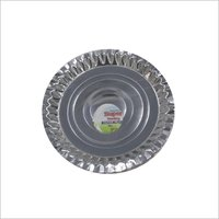 Silver Snack Paper Plates