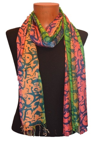 Arabic Multi Color Stole