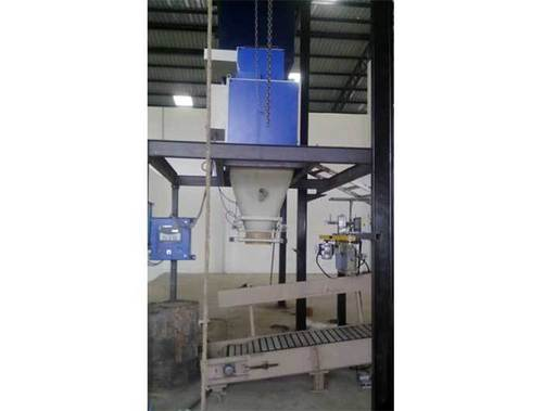 Load cell bagging machine