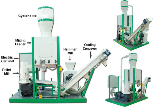Bio Mass Pellet Plant Machinery