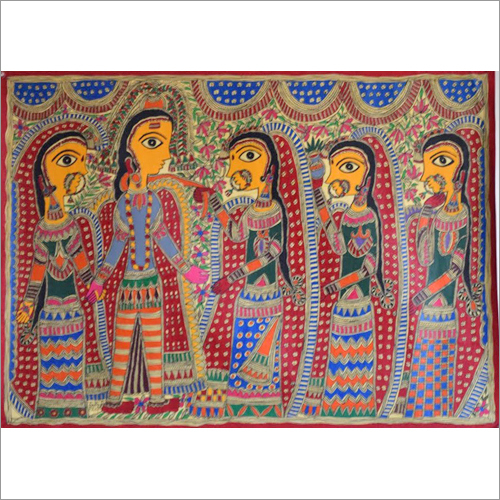 Traditional Indian Marriage Painting
