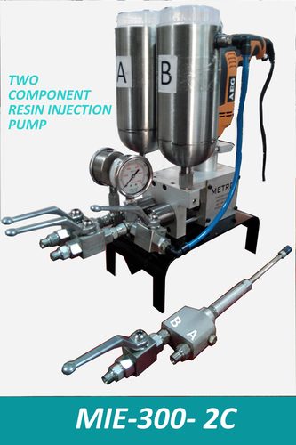 Dual Component Resin Injection Pump