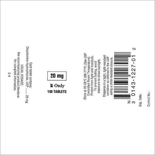 Ampule Labels