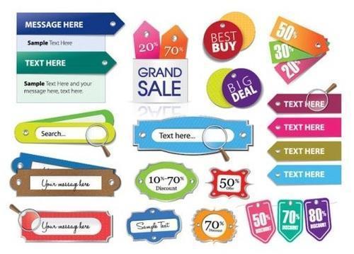 Advertisement Labels