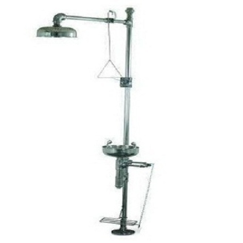 Combination Of Eye Wash And Shower Unit