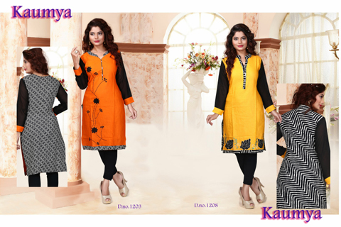 Cotton Fancy Kurtis