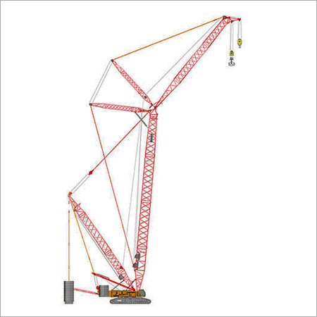 500 Ton Crawler Crane