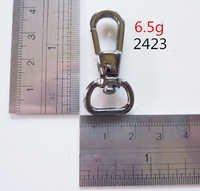 Dog trigger hook, Oval hook,for handbag, gun metal, high quality hardware,nickle-free